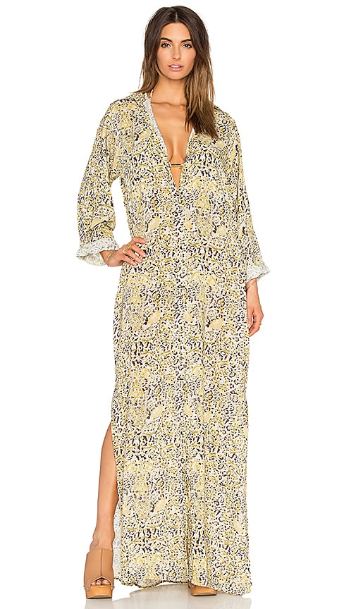 Larissa Minatto Maxi Dress in Leopardo Print