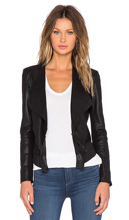 LaMarque Zura Leather Jacket in Black