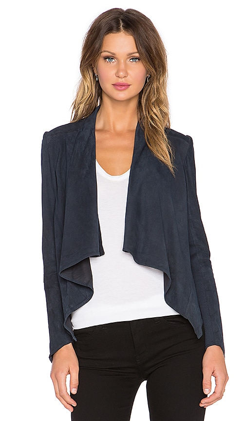 LaMarque Madison Asymmetric Jacket in Eclipse