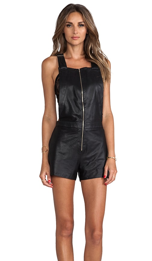 Lola Leather Overalls