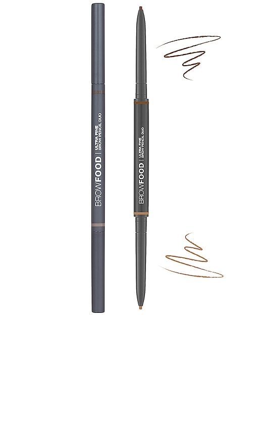 Browfood Ultra Fine Brow Pencil Duo
