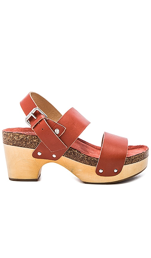 Latigo Larry Sandal in Rust