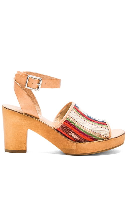 Latigo Inca Sandal in Red