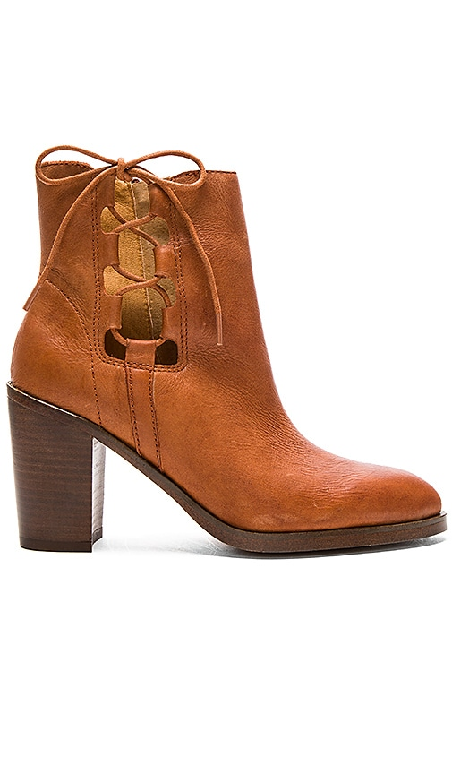 Latigo Jace Booties in Brown