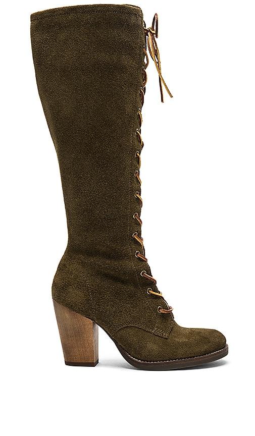 Latigo Ferderica Boots in Olive