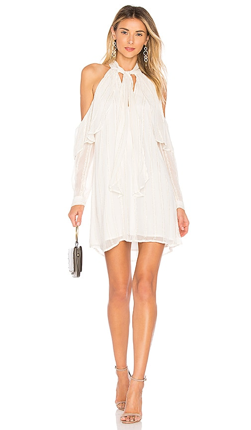 L'Academie Camilla Dress in White