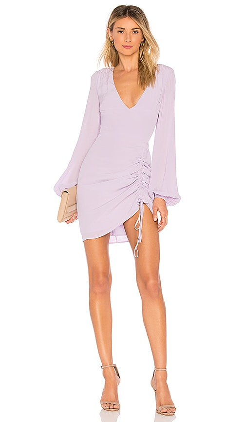 L'Academie The Pearl Dress in Lavender
