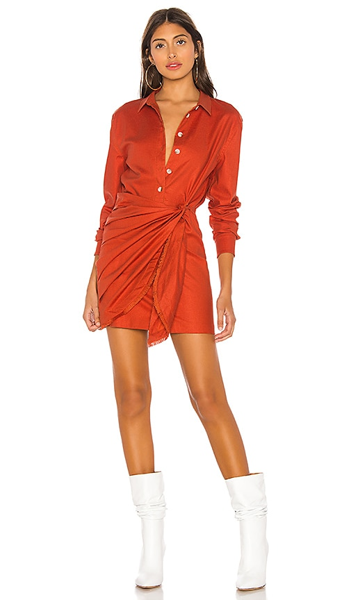 c9ec0547791 L Academie The Adelyn Mini Dress in Cherry Red