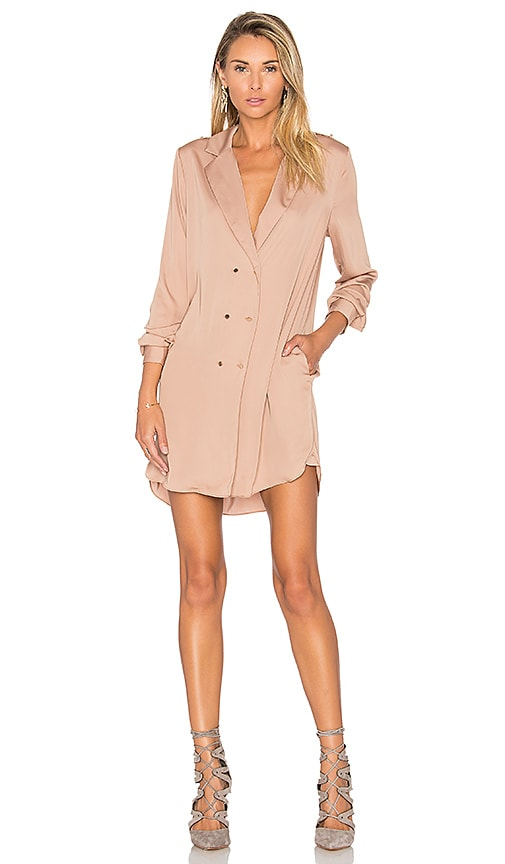 L'Academie The Military Dress in Tan