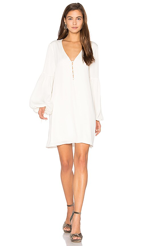 L'Academie The Airy Dress in Ivory