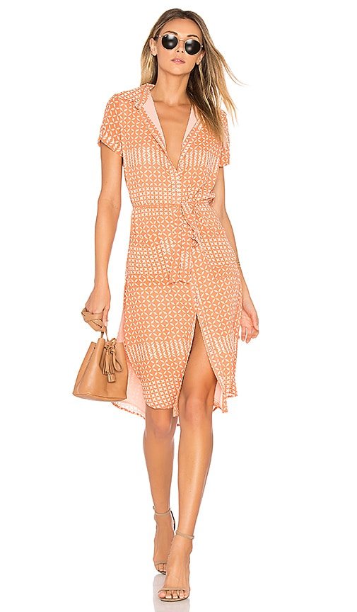 L'Academie x REVOLVE The Shirt Dress in Pink