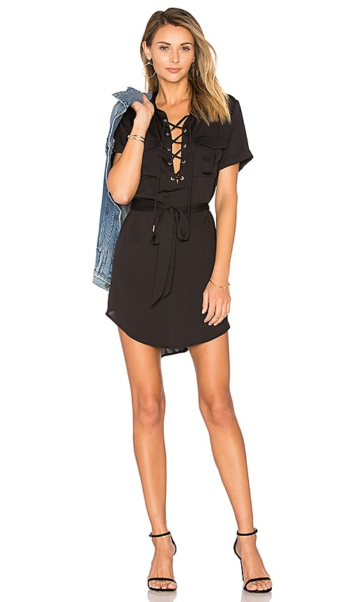 L'Academie The Safari Dress in Black