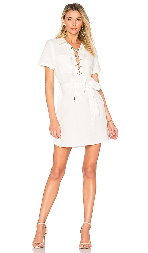 L'Academie The Safari Dress in White
