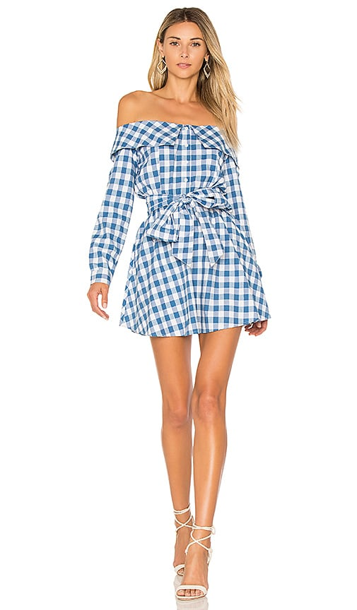 X REVOLVE Jann Button Up Dress