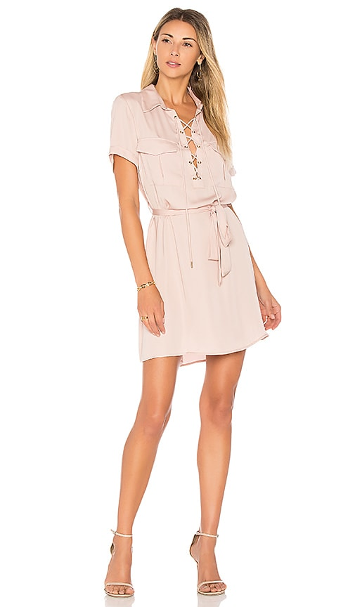 L'Academie The Safari Dress in Blush