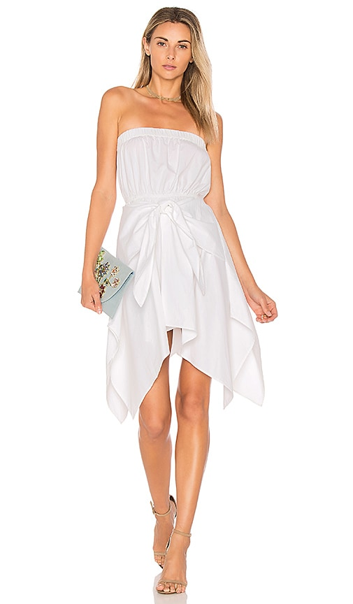 L'Academie x REVOLVE Only Way Out Dress in White