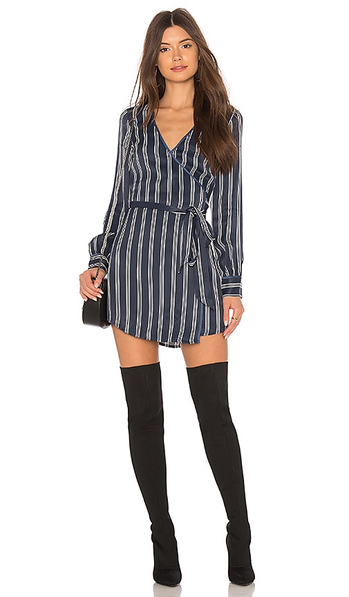 L'Academie The Leone Dress in Navy