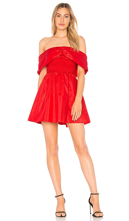 L'Academie The Juni Dress in Red