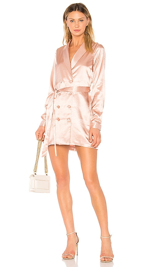 L'Academie The Sophie Dress in Rose