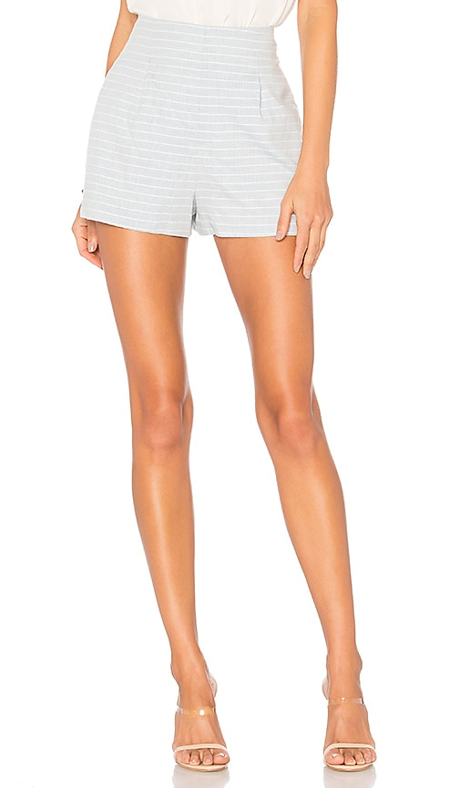 L'Academie The Carter Short in Baby Blue