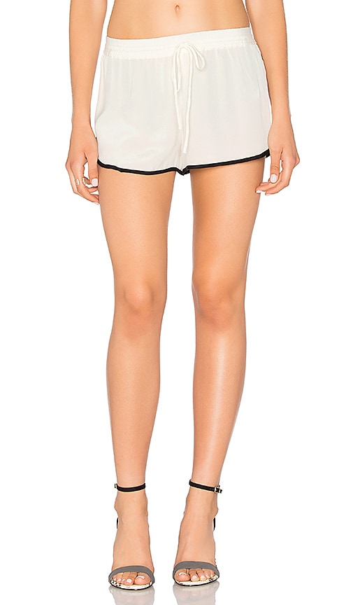 L'Academie x REVOLVE The Silk Short in Ivory
