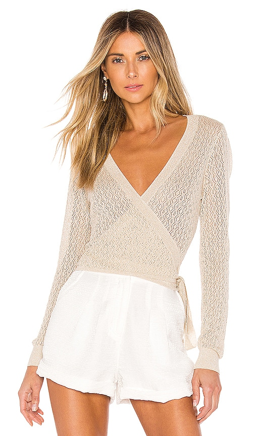 Laurel Wrap Sweater