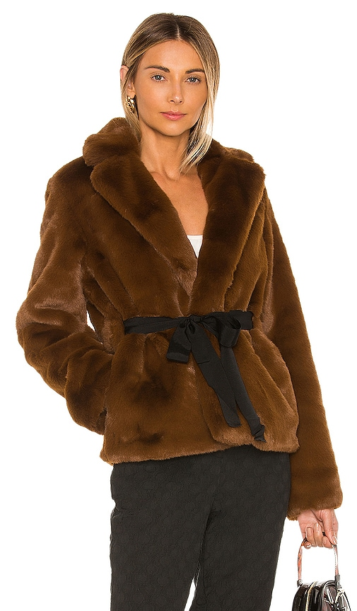 The Macee Faux Fur Coat
