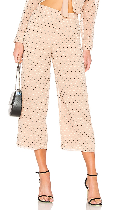L'Academie Lea Culottes in Beige