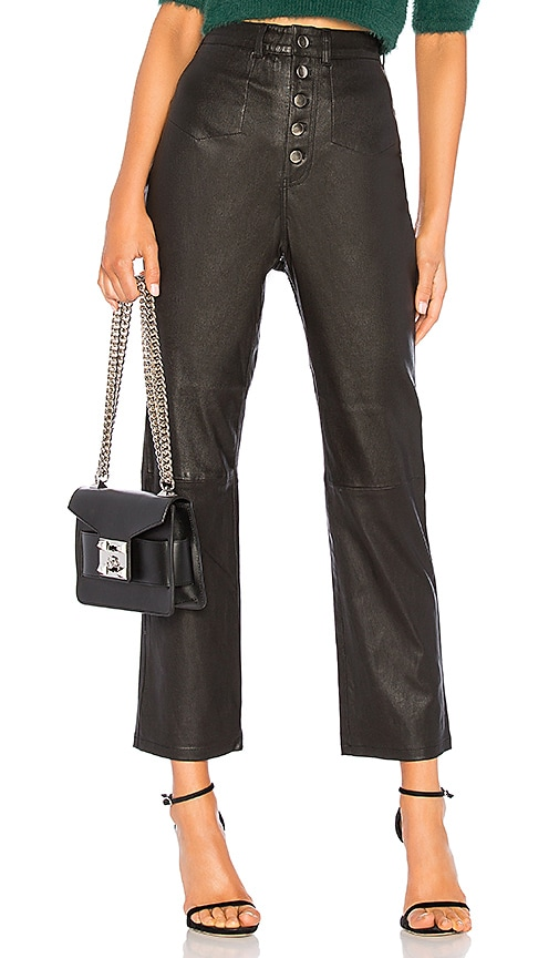The Kane Leather Pant