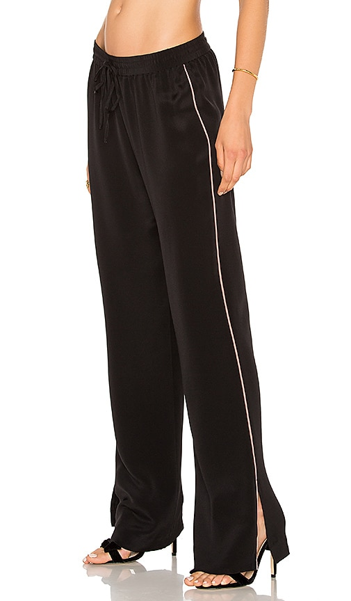 L'Academie x REVOLVE The Silk Pant in Black