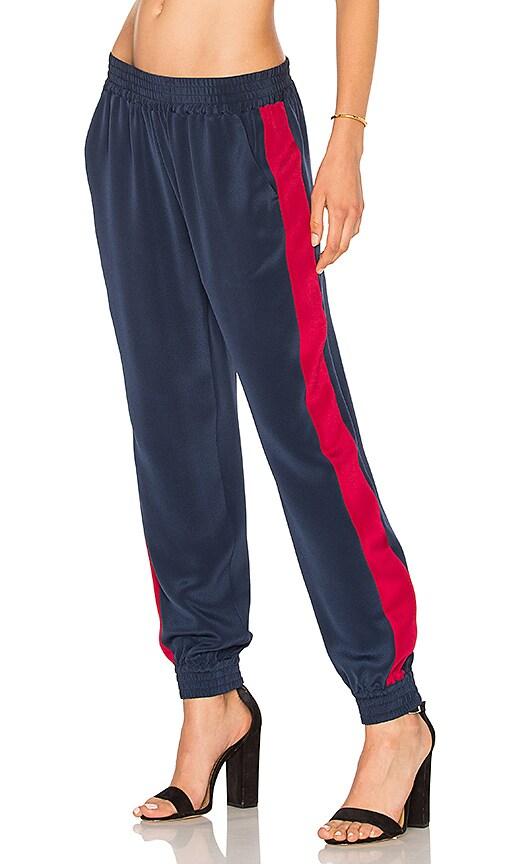 L'Academie x REVOLVE The Silk Trouser in Navy