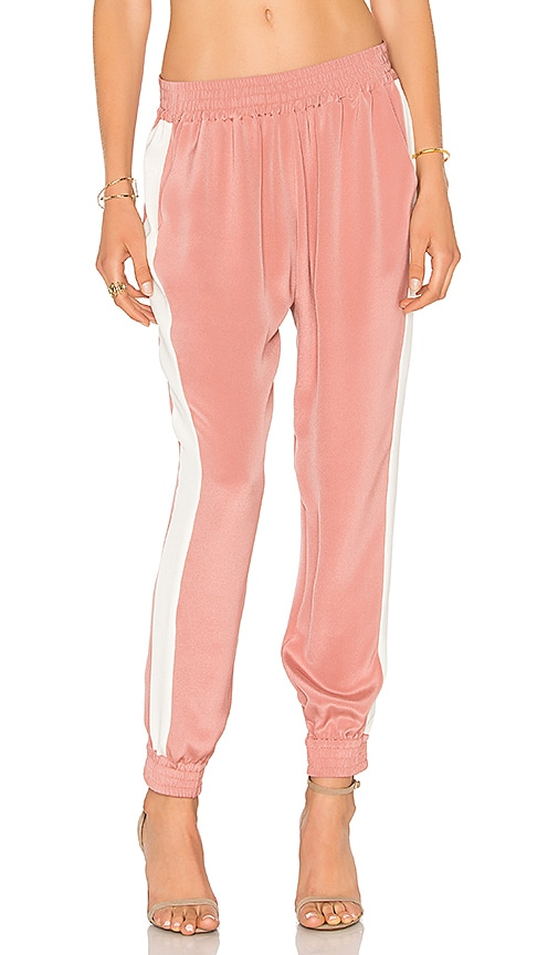 L'Academie x REVOLVE The Silk Trouser in Pink