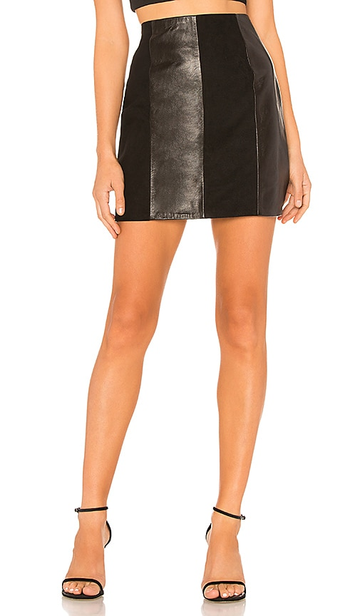 The Lynch Leather Skirt