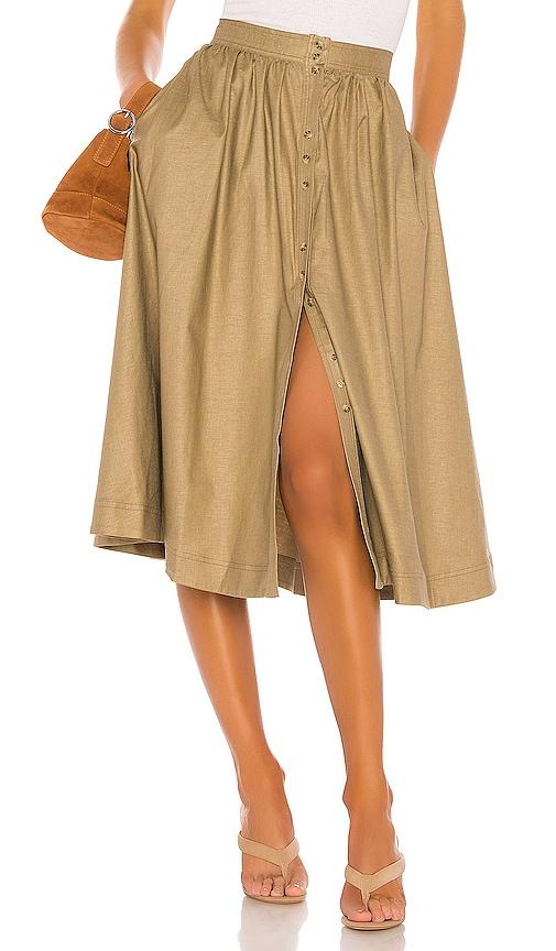 The Maxime Midi Skirt
