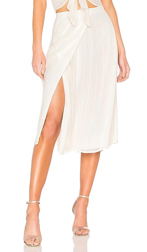L'Academie Jasmine Skirt in Ivory