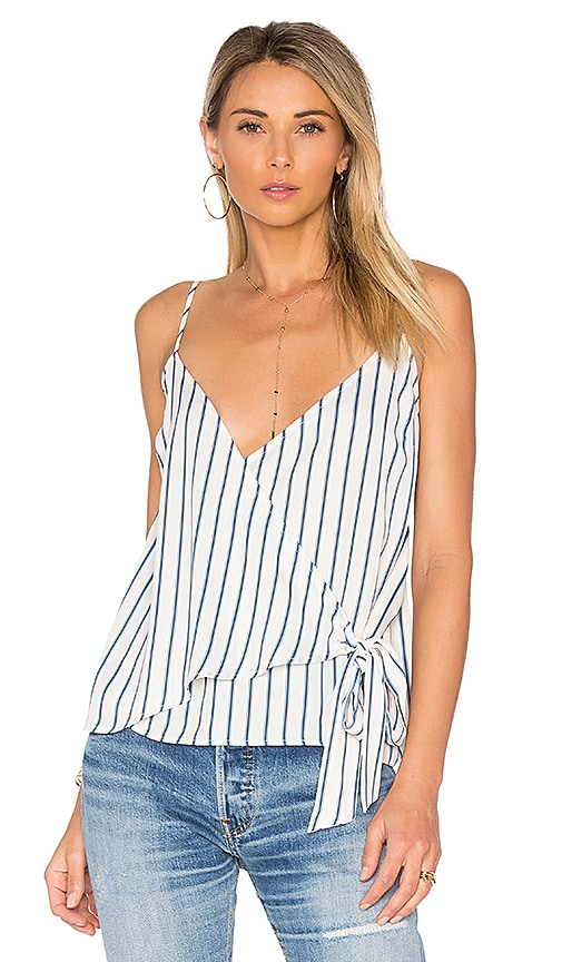L'Academie x REVOLVE The Wrap Cami in Blue
