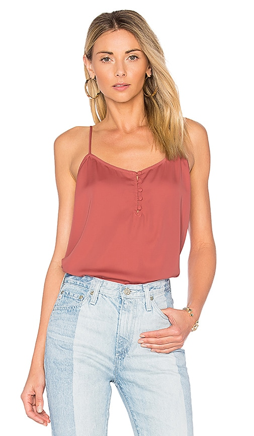 L'Academie x REVOLVE The Button Cami in Red