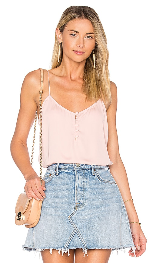 L'Academie x REVOLVE The Button Cami in Pink