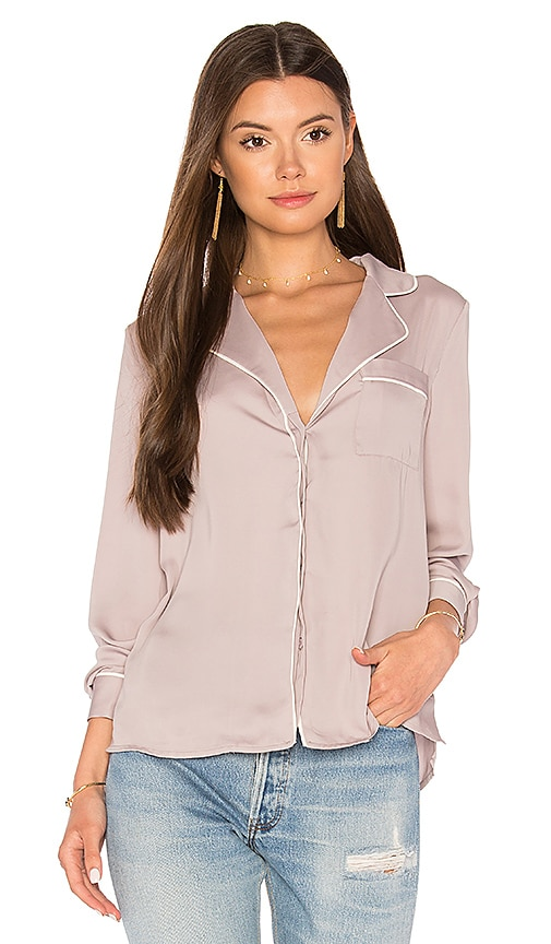 L'Academie The Lounge Shirt in Mauve