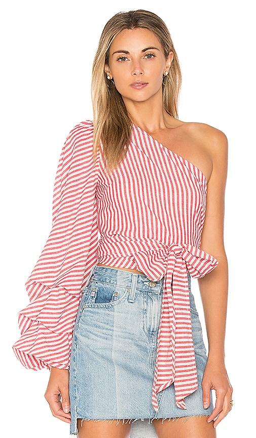 L'Academie x REVOLVE Reckless Top in Red