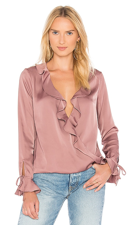 L'Academie The Austen Blouse in Pink
