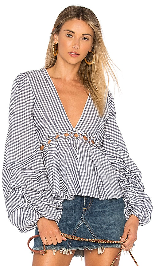 L'Academie x REVOLVE Far From Home Top in White