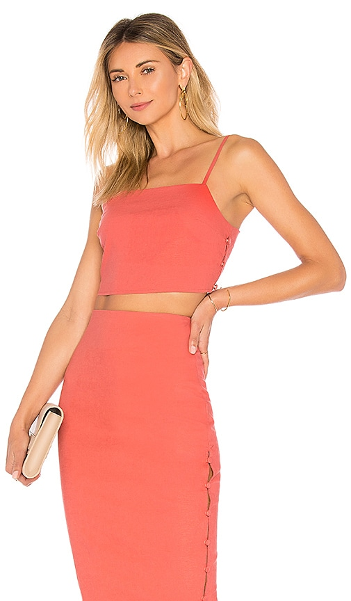 L'Academie The Barton Top in Rose