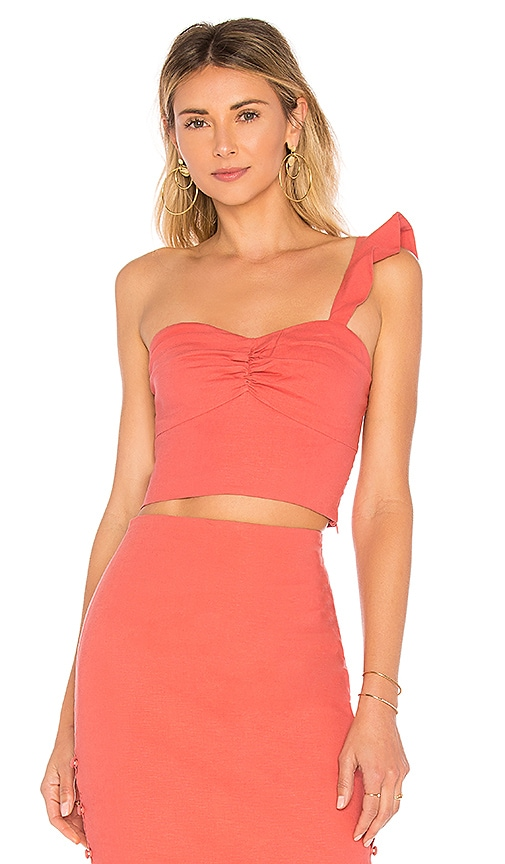 L'Academie The Cypress Top in Rose