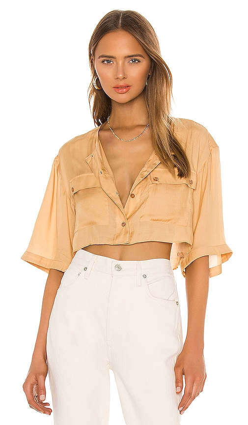 The Adrien Crop Top by L'Academie, available on revolve.com for $138 Bella Hadid Top SIMILAR PRODUCT