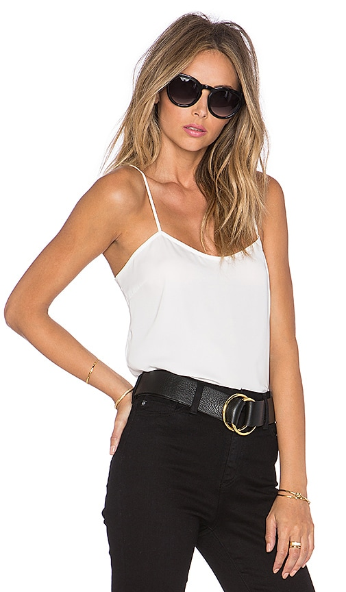 L'Academie The Cami Blouse in White