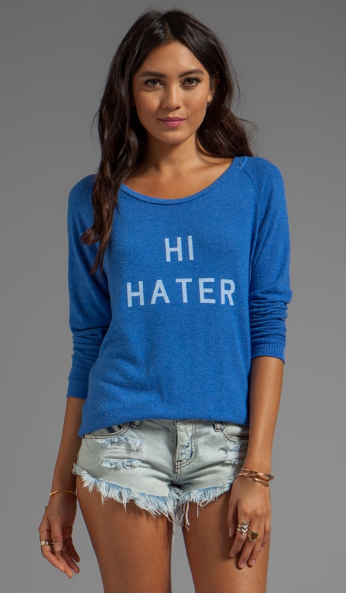 Hi Hater Bye Hater Sweater