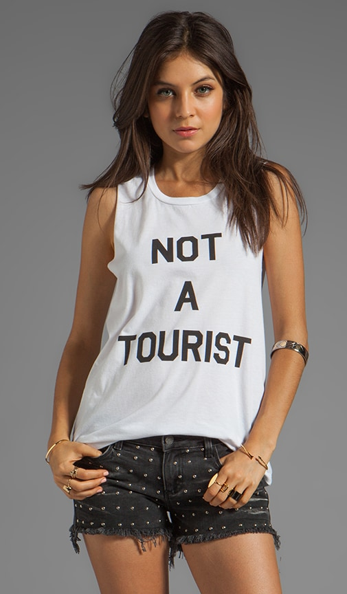 Not A Tourist Muscle Tee