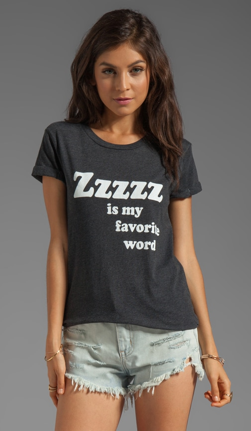 Zzzzz Is My Favorite Word Tee