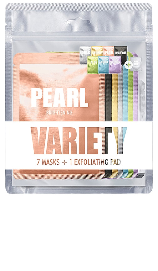 7 Mask Variety Pack 1 + Exfoliating Pad